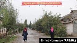 Қара-Суу ауылы, Қырғызстан. 8 қазан 2014 жыл. (Көрнекі сурет)
