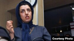 Iranian human rights activist Narges Mohammadi (file photo)