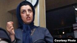 Iranian human rights activist Narges Mohammadi (file photo)