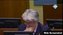 Radovan Karadzic na sudjenju u Hagu
