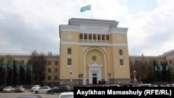 Здание Академии наук Казахстана в Алматы.
