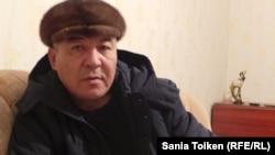 Нурлыбек Нургалиев, один из раненных во время Жанаозенских событий. Жанаозен, 7 декабря 2013 года.