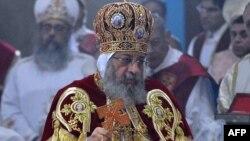 Египет копт христиан шіркеуінің басшысы Папа ІІ Теодориус.