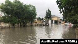 Bakı yağışdan sonra. 13iyun2017