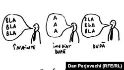 Desen de Dan Perjovschi