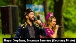 Айрат Имашев һәм Лилия Хәйруллина