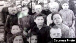 Copii moldoveni deportaţi în Siberia, 1950
