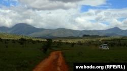 Jedan od nacionalnih parkova Kenije