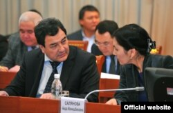Шамиль Атаханов и Аида Салянова.