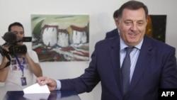 Milorad Dodik na izborima 2014.