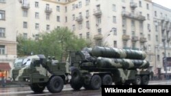 Russia - S-400 air-defense systems are put on display in Moscow.