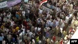 Протести во Сирија