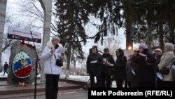 "Участники акции ""Возвращение имен"" в Томске (Архивное фото)"
