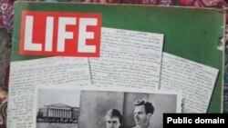 """Нумар часопіса """"Life"""" з публікацыяй дзёньніка Освальда"""