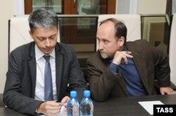 Владимир Ермолаев (ДПНИ) и Игорь Артемов, 2010