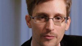 U.S. intelligence leaker Edward Snowden