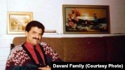 Iran -- Iranian writer and poet Pirooz Davani.