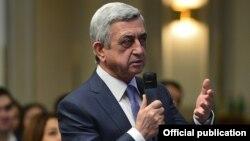 Serzh Sargsyan, 21 yanvar 2017