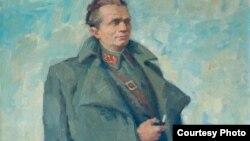 Dj.A.Kun, Portret druga Tita, 1949., Galerija Matice srpske, Novi Sad