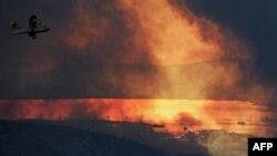 Архивска фотографија - Пожар во близина на Сплит.