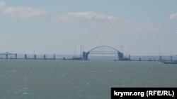 Будівництво Керченського мосту, жовтень 2017 року