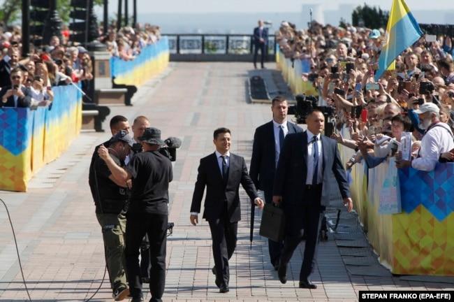 Инаугурация Владимира Зеленского, Киев, 20 мая 2019 года