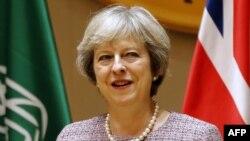 Тереза Мэй, нахуствазири Британия