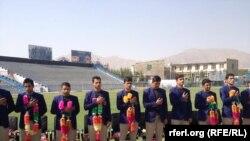 Əfqanıstanın 19 yaşlılardan ibarət kriket komandası