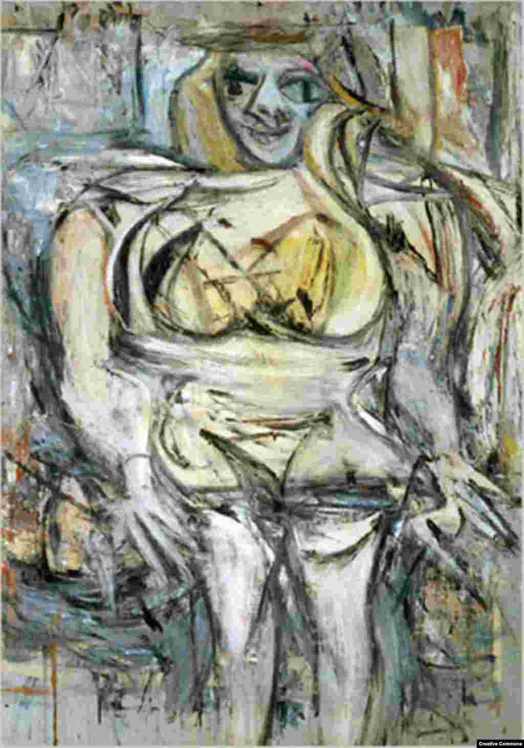 "Dutch painter Willem de Kooning's ""Woman III"" (1963) is thought to be the third-most expensive painting ever sold. It was reportedly bought by American hedge fund manager Steve A. Cohen for more than $137 million in 2006."