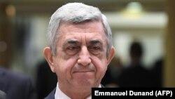 Ermənistanın keçmiş prezidenti Serzh Sarkisin , 24 noyabr,2017