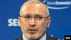 Бывший владелец компании ЮКОС Михаил Ходорковский.