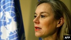 سیگرید کاگ، نماینده ویژه دبیرکل سازمان ملل در امور شیمیایی سوریه