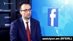 Министр здравоохранения Арсен Торосян, Ереван, 18 мая 2018 г.