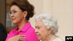Дарига Назарбаева и королева Великобритании Елизавета II