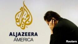 В офисе телеканала Al Jazeera America.