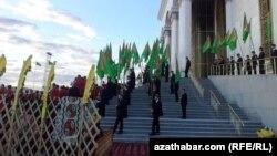 Туркменские студенты, архивное фото.