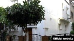 Здание таджикского посольства в Каире