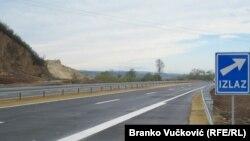 Илустрација- автопат во Србија