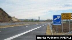 Autoput kod Kragujevca, ilustrativna fotografija