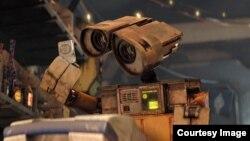 Кадр из фильма ВАЛЛ-И