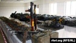 Dorge dhe arme te konfiksuara, Afganistan...