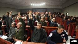 Голосование за создание «Донецкой народной республики»