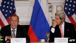 Sergey Lavrov və John Kerry