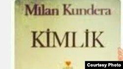 Milan Kunderanyň türk dilinde çap edilen kitabynyň jildi