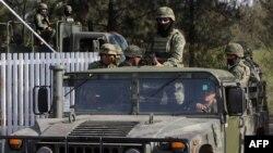 Meksika polisi yaraqlılara qarşı əməliyyat keçirir