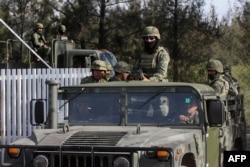 Mitralierele românești le-au permis traficanților să înceapă adevărate războaie cu forțele de ordine și trupele militare din Mexic.