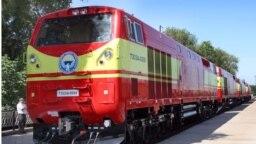 Поезда «Кыргыз темир жолу».