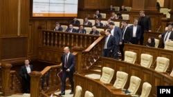 Pavel Filip în Parlament