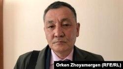 Белсенді Құрманғазы Рахметов. Нұр-Сұлтан, 28 маусым 2019 жыл.