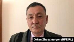 Курмангазы Рахметов, председатель движения «Нагыз Желтоксан» («Настоящий Желтоксан»). Нур-Султан, 28 июня 2019 года.